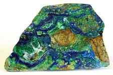 Large Morenci AZ Malachite Azurite Slab Rough Specimen - 283ct - Hard Matrix