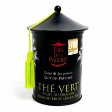 Thés De La Pagode Tea Thé Vert Fruit du Dragon 3.5oz Dragon Fruit Loose Green