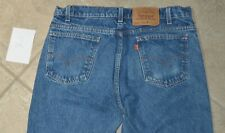 Vintage Levis 505 Orange Tab Tag 34x34 Made In USA 100% Cotton