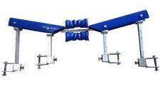 Boat Trailer Bunk Skids Self Centering Glider Kit. Self Centre Guide V Kit Blue