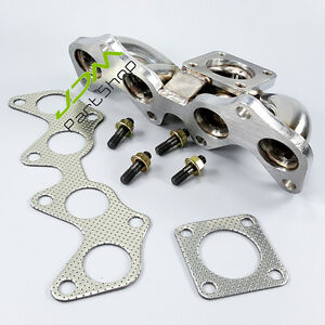 For Toyota Starlet Glanza EP82 EP91 CT9 Turbo Exhaust Stainless Manifold Header