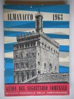 Almanacco 1963 Guida del segretario comunale INA assicurazioni illustrato 19