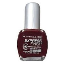 10 X MAYBELLINE EXPRESS FINISH NAIL COLOR POLISH ❤ 290 MOCHA BLAST ❤ BROWN