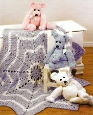 Merry Go-Round Baby Blanket/Crochet Pattern INSTRUCTIONS ONLY