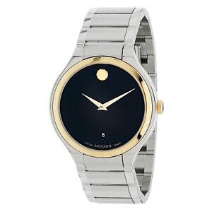 Movado 0607394 Men's Quadro Black Quartz Watch