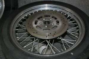 "spoke front wheel 21"" 1993 FXLR Harley FXR FXRT FXRP XL Dyna FXDL 39mm EPS24062"