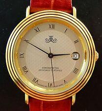 Master Anker by Mondaine 37mm Chronometer Elegante Sammler Herren Armbanduhr