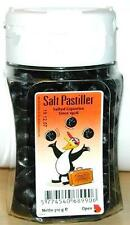 DÄNISCHE PINGVIN SALTPASTILLER SALT PASTILLER SALZ PASTILLEN 310g LAKRITZ