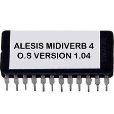 Alesis Midiverb IV/4 firmware OS upgrade V 1.04 EPROM m4 Midiverb 4