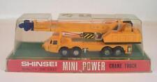 Shinsei Mini Power 1/110 Kato Crane Truck / Kranwagen mit Teleskoparm OVP #2579