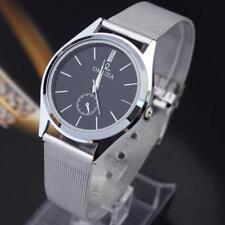 Men Wrist Watches Stainless Steel Analog Displays Quartz Movement Fashion Casual