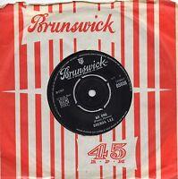 BRENDA LEE    NO ONE / TOO MANY RIVERS    UK BRUNSWICK    60s FEMALE  POP
