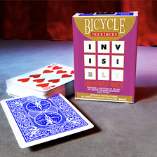 Invisible Deck Bicycle Mandolin (Blue) from Murphy's Magic