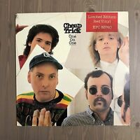 CHEAP TRICK One On One 1982 UK RED vinyl LP