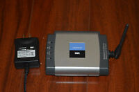 Linksys WPSM54G V1 Wireless G USB Print Server Multifunction Printer Support