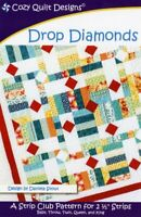 Drop Diamonds by Cozy Quilt Designs Quilt Pattern