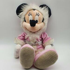 Disney Store Exclusive Minnie Mouse plush winter outfit Eskimo