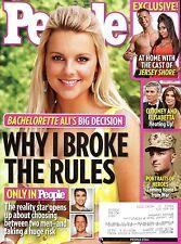 People Magazine Aug 9 2010 Bachelorette Ali's Decision: Why I Broke the Rules