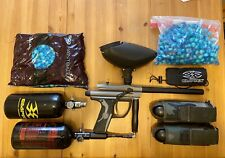 Spyder Fenix Paintball Gun W/ Accessories, Tanks, Hopper, Paintballs And More