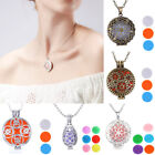 Charm Aromatherapy Essential Oil Diffuser Pendant Locket Necklace Jewelry Gifts