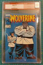 Wolverine #8 (1989) CGC 9.8 - Grey Hulk Appearance in Tuxedo Marvel Comics