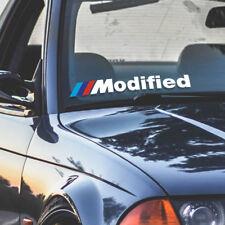 BMW Modified M M1 M2 M3 M4 M5 M6 window windshield sticker stance drift decal