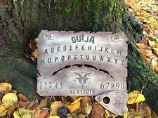 Planche ouija Cicatrice Gravure Sur Bois. Board of ouija