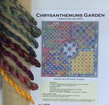 Lois Caron Collection counted thread needlepoint Chrysanthemum Garden KIT
