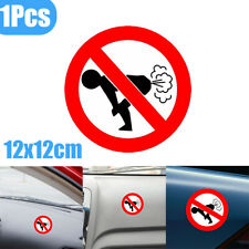 1x Reflective Text Word No Farting Funny Decal Car Sticker Auto Accessory Decor