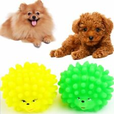 Sound Cute Squeaky Pet Supplies Chew Squeaker Hedgehog Shape Dog Toys Spherical
