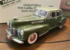 Danbury Mint 1941 Cadillac Sixty Special Fleetwood Sedan Limited Edition of 1000