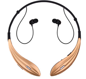 Bluetooth Headset Neckband Sweatproof Earphones with Mic for iPhone, Android