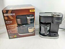 Keurig K-Duo 12-Cup Coffee Maker Single Serve K-Cup Brewer Machine *Used Once*