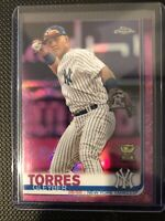 2019 Topps Chrome All Star Rookie Cup Pink Refractor #86 Gleyber Torres Yankees