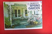 1967 PLAN FOR  SPRING GARDENS  SUPPLEMENT BOOKLET 16 PAGES AUST WOMENS WEEKLY