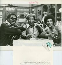 ERNEST THOMAS FRED BERRY HAYWOOD NELSON WHAT'S HAPPENING!! 1976 ABC TV PHOTO