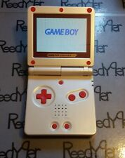 PICK A COLOR Red White FAMICOM Nintendo GameBoy Advance SP AGS-101 System GBA