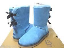 UGG BAILEY BOW WOMEN SHORT BOOTS SUEDE RAIN DROPY US 7 /UK 5.5 /EU 38 /JP 24
