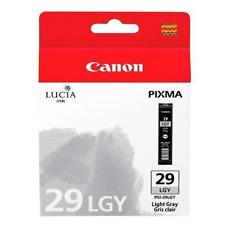 Canon Pgi-29lgy Light Grey Ink Cartridge 4872b001