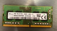 4GB Laptop Memory PC4 RAM SK hynix 1Rx16 PC4-2400T HMA851S6AFR6N SODIMM