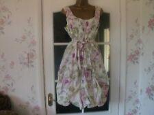 GEORGE Femme Ivoire/Pastel Floral Taille robe de mariage 14/Courses/CRUISE