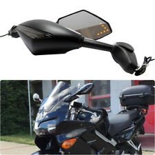 Motorcycle LED Turn Signals Rearview Mirrors For Honda VFR 800 CBR900/929/954RR
