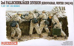 Dragon 1/35 6157 WWII German 2nd Fallschirmjager Division (Kirovograd, Winter)