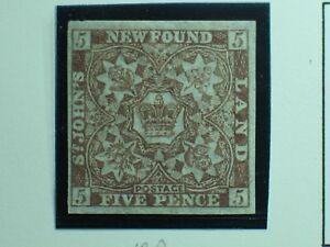 Canada Newfoundland Stamp # 12A Mint  UN$160 VF  MNH OG