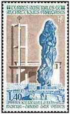 Timbre Religion Eglises TAAF 96 ** (30626)