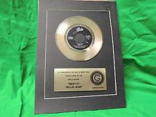 Michael Jackson Gold Record Display Epic Beat It Billie Jean Limited Edition