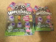 NEW Hatchimals Colleggtibles 4 pack w/BONUS and 2 pack w/ Nest FREE SHIPPING