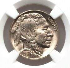 1937-D NGC MS67 Buffalo Nickel Indian Head High Grade Type Coin PQ Lustrous