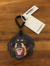 GIVENCHY Rottweiler leather bag charm