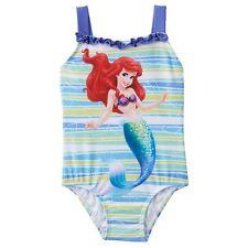 Disney Princess Ariel The Little Mermaid Toddler Girls One Piece Swimsuit 2T NWT